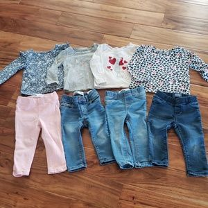 GAP & Old Navy Baby Girls Lot 18-24 Months